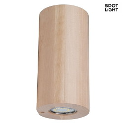 WOODDREAM, LED-Wandleuchte, Birke