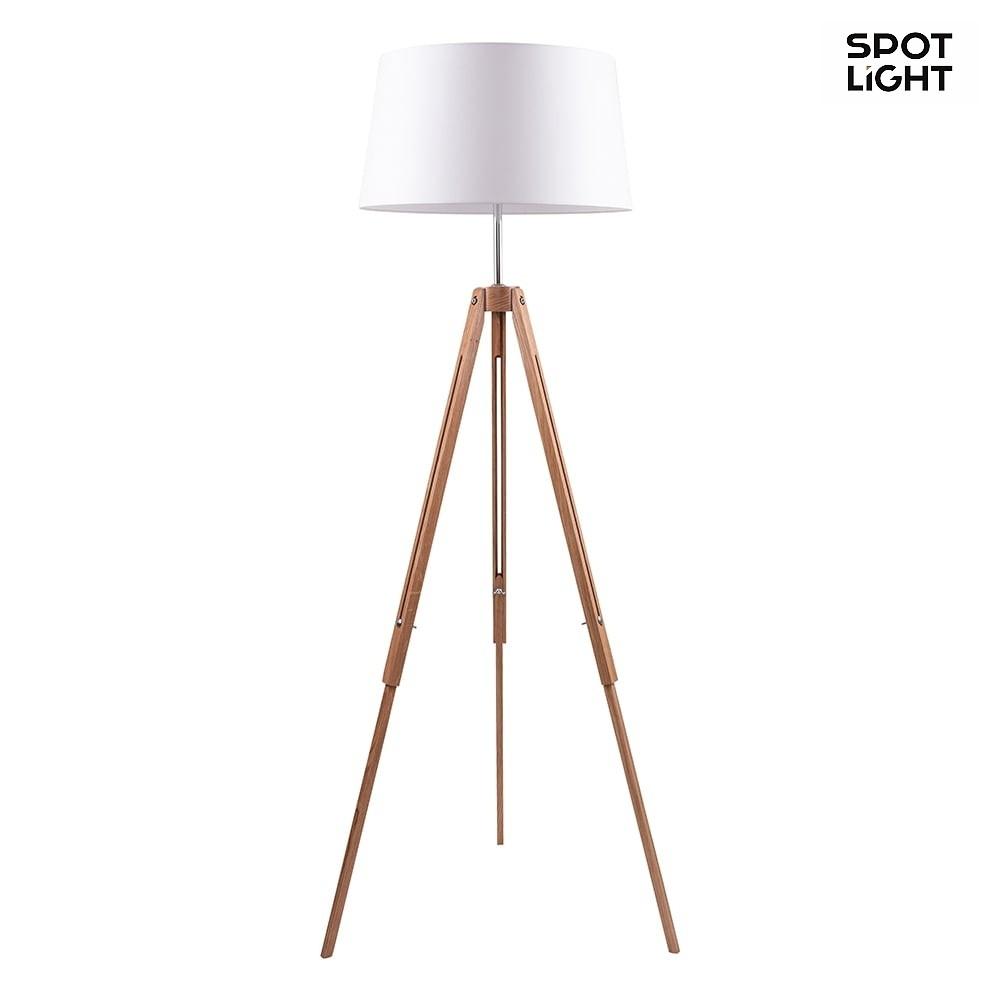 stehleuchte tripod 158cm e27. Black Bedroom Furniture Sets. Home Design Ideas